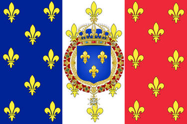 Royal Standard of France by ramones1986