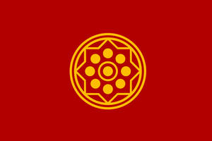 Flag of Thailand (ca. 1665 - 1782)  - Version 2 by ramones1986