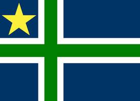 Cross and North Star of Minnesota by ramones1986