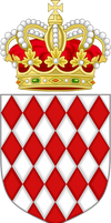Lesser Coat of Arms of (Greater) Monaco