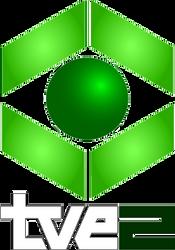 Alternate History Logos: TVE-2 (1983-89) by ramones1986