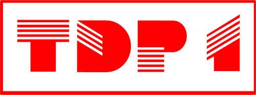 Alternate History Logos: TDP-1 (1984-85) by ramones1986