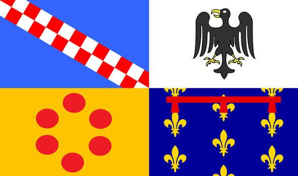 Royal Standard of (Alternate) Italy