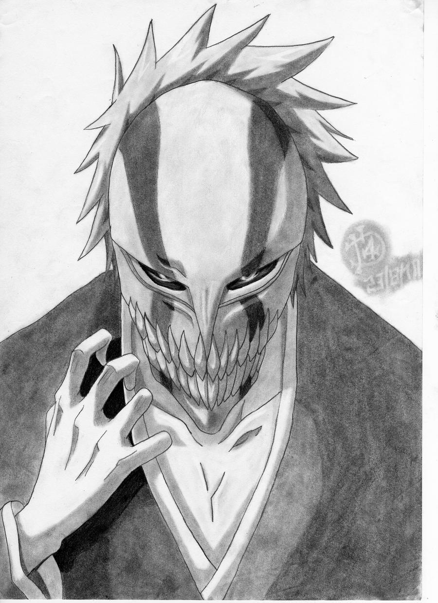 Ichigo final mask Hollow form by insanedarki on DeviantArt