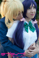 Tojo Nozomi and Ayase Eli - Love Live! // 8 by xAnotherSkin