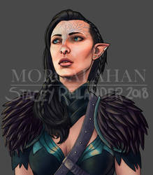 Lyrial Lavellan by Morgalahan