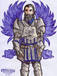 Inktober Day 1 - Blackwall, Poisonous
