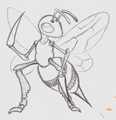 Pkmn: Beedrill by Paperiapina
