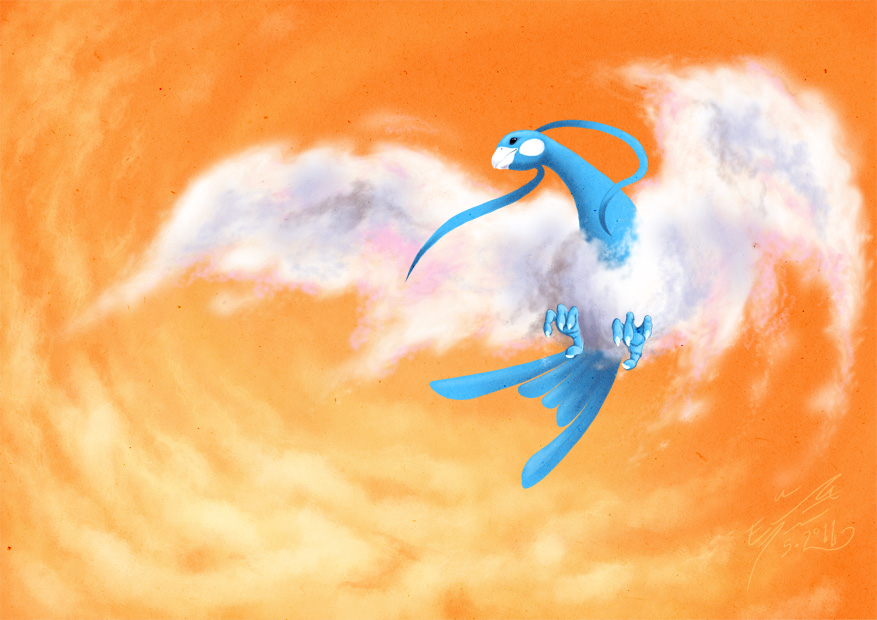 Altaria by Paperiapina on DeviantArt