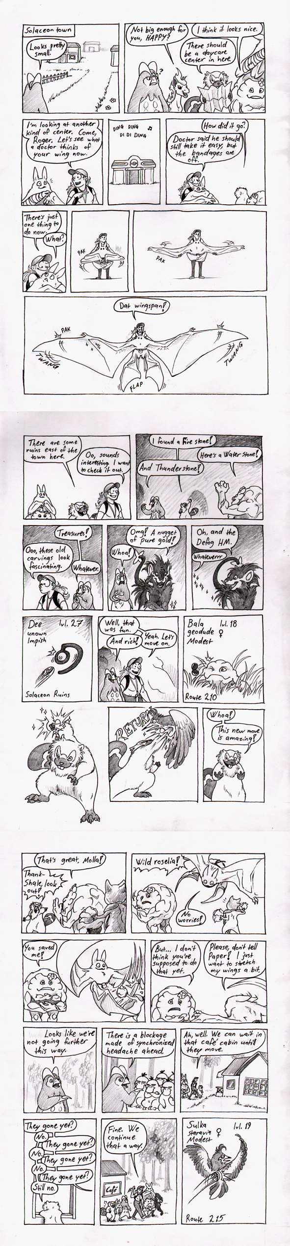 Papermonkey's 'Nuts Lock' part 14 by Paperiapina