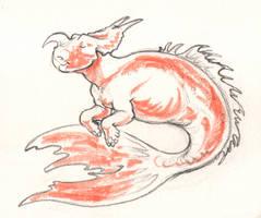 Mersaurus by Paperiapina
