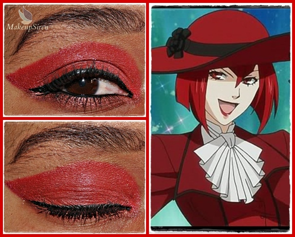 Eye Designs: Madam Red by MakeupSiren