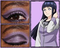Eye Design: Hinata Hyuga by MakeupSiren
