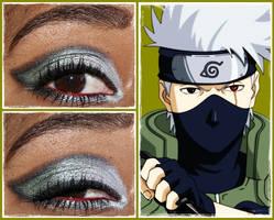 Eye Design: Kakashi Hatake by MakeupSiren