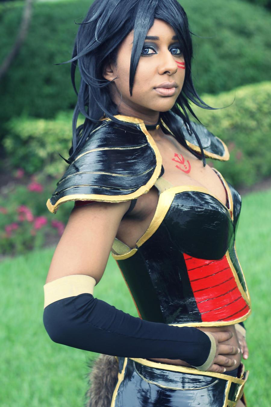 FL Supercon 2014: DragonBall Z Cosplay (Azuki) by MakeupSiren