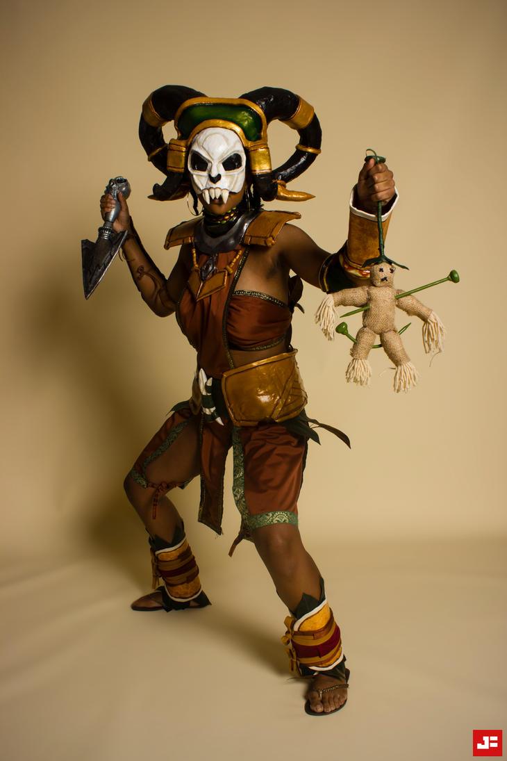 Diablo 3 Cosplay: The Witch Doctor by MakeupSiren on DeviantArt