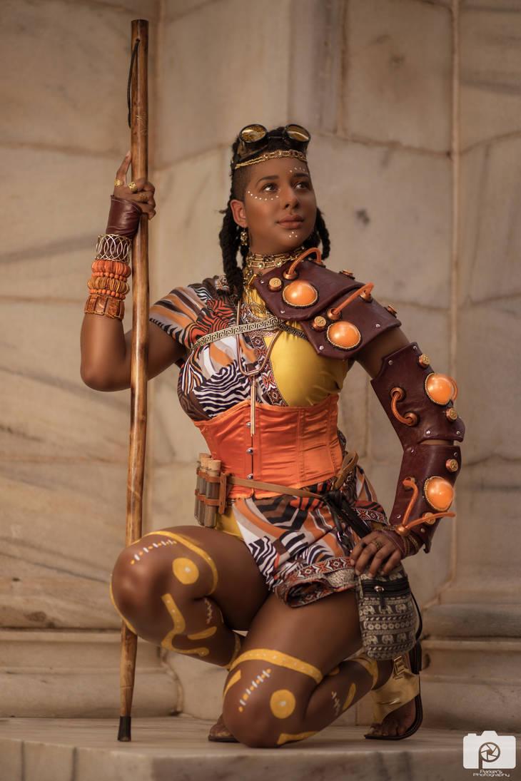 african Steampunk: Sahara Enginnering by MakeupSiren
