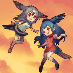 Kemono Friends Journal - a Migratory Birds