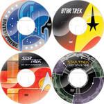 Star Trek series DVD labels