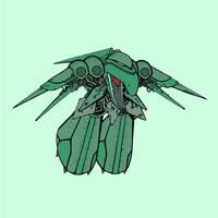 Emerald Weapon by GrosDino