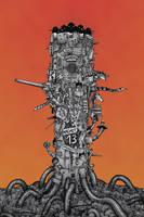 Tower of Oiseau by GrosDino