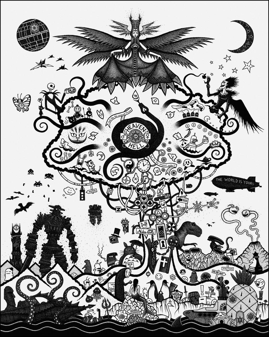 Tree of Ultima by GrosDino