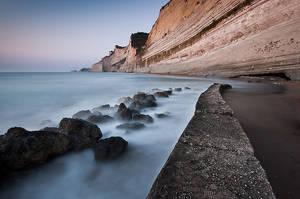 Sunset beach - Corfu by matios