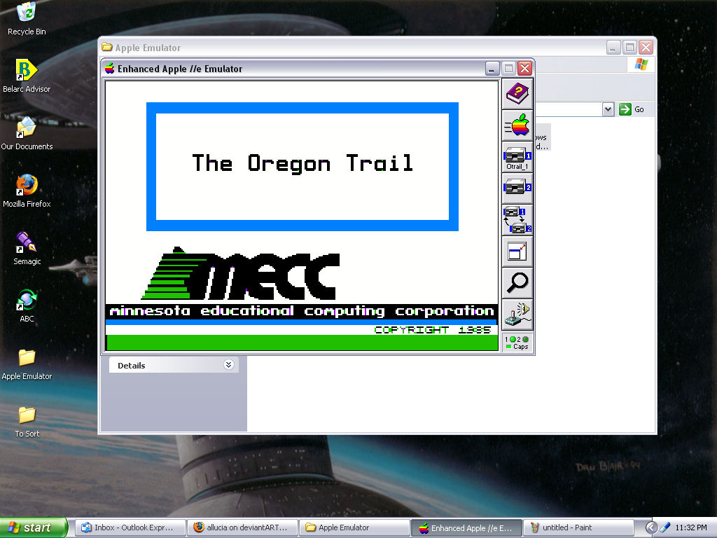 The Oregon Trail ON WINDOWS