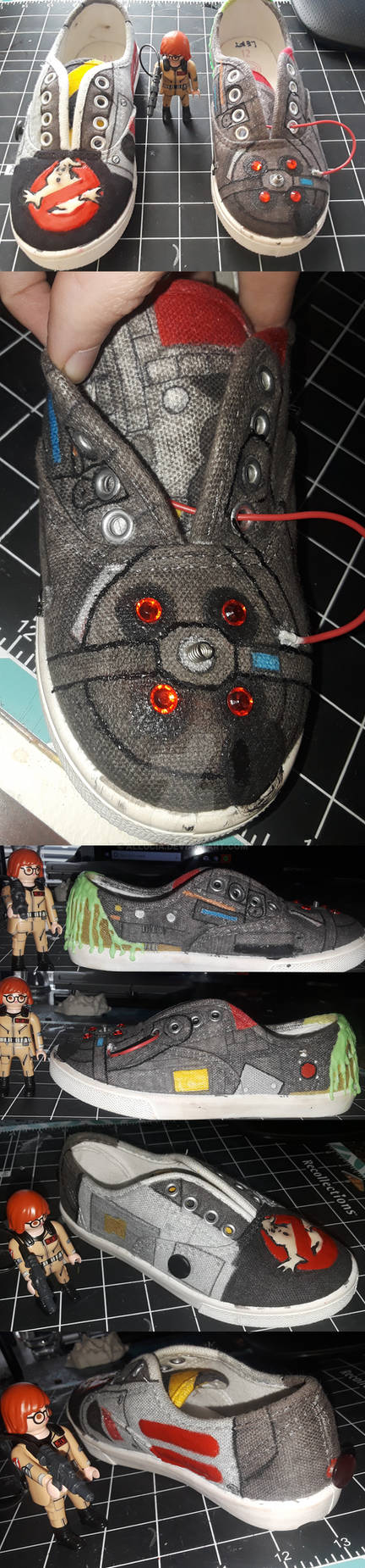 Custom Ghostbusters Sneakers [WiP]