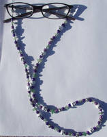 Skull Roses Eyeglass Holders by allucia