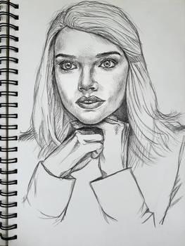 Anya Taylor-Joy sketch