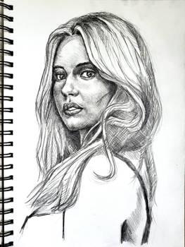 Sydney Sweeney sketch 2