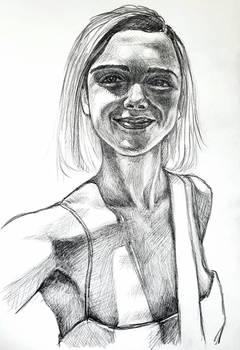 Kiernan Shipka sketch