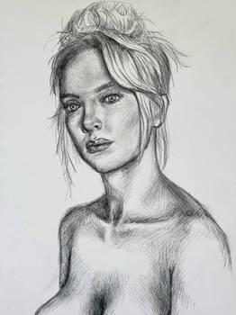 Jodie Comer sketch