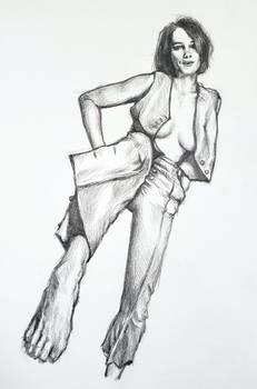 Maya Hawke sketch