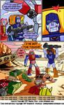 Transformers Comic Page