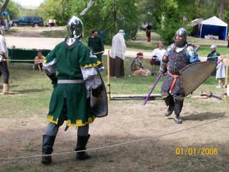 Maelgwn III vs. Balthazar by CHCerberus