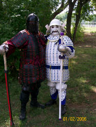 The Dueling Samurai by CHCerberus