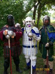 The 3 Samurai of Plattefordham by CHCerberus