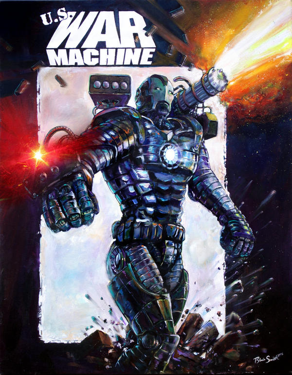 WAR MACHINE by blairsmith