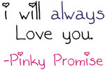 Pinky Promise by killmeonyourownterms