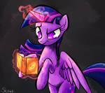 Twilight Sparkle magic spell.