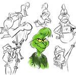 Grinch sketches