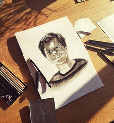 charchoil portrait man by Stupchek
