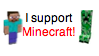 I Support Minecraft by Starlow-FTW
