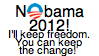 Not Obama 2012 by Starlow-FTW