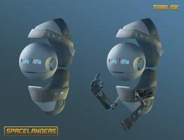 SPACELANDERS : TRALOK
