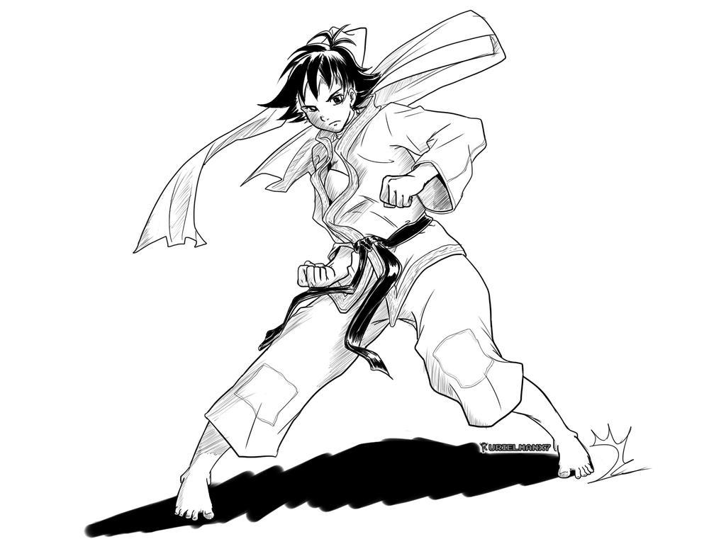 SF3rd Strike - Makoto Comic-ish? by UrielManX7