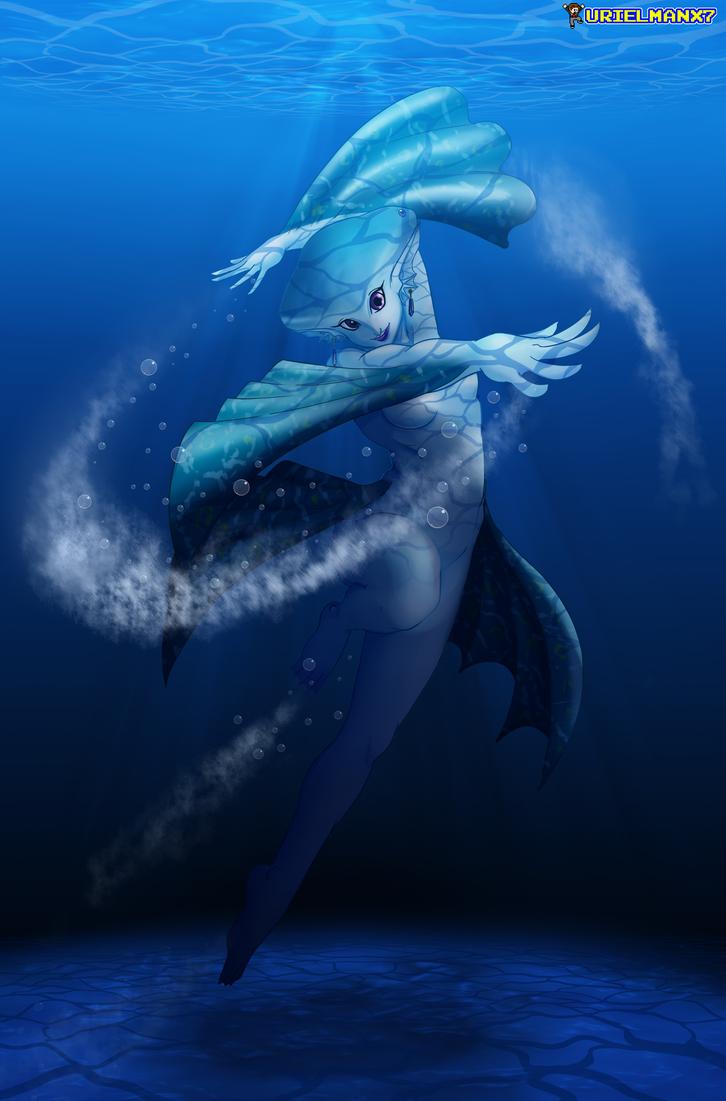 LoZOoT - Water Dancer by UrielManX7