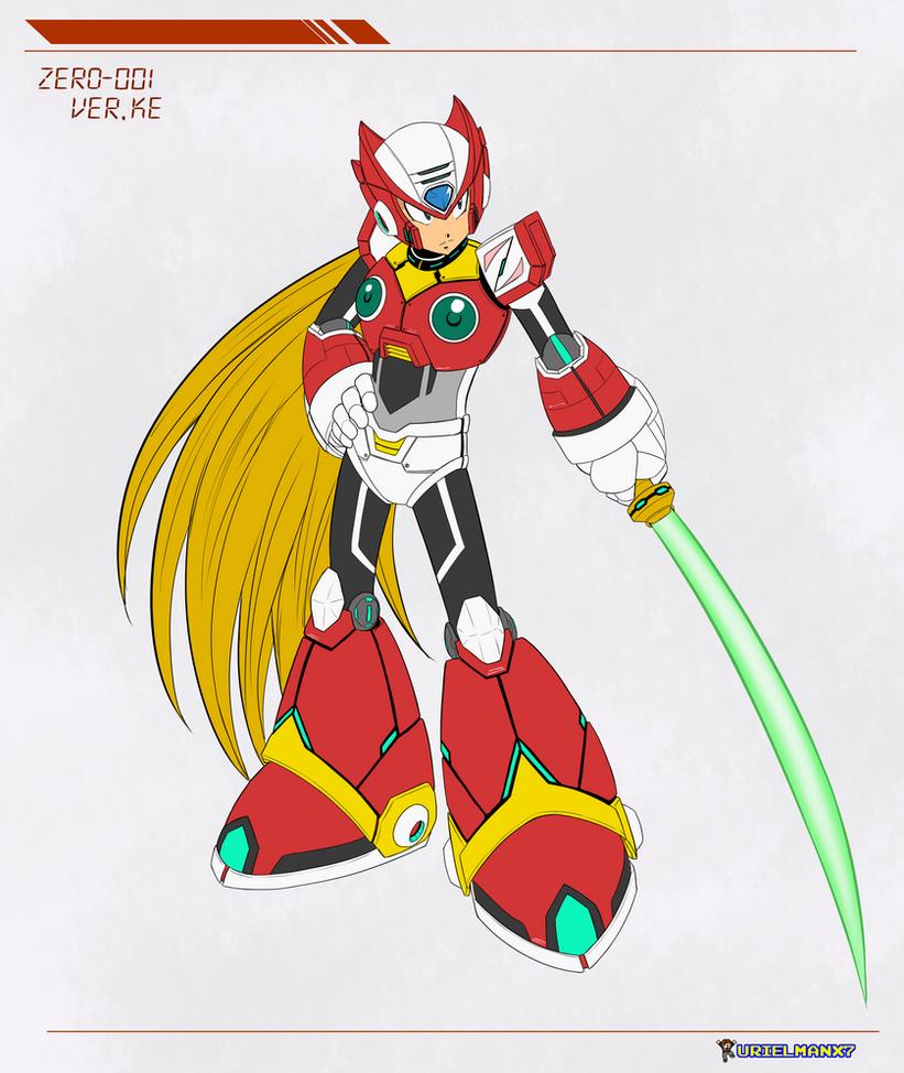 Megaman -Zero Version 'KE' by UrielManX7